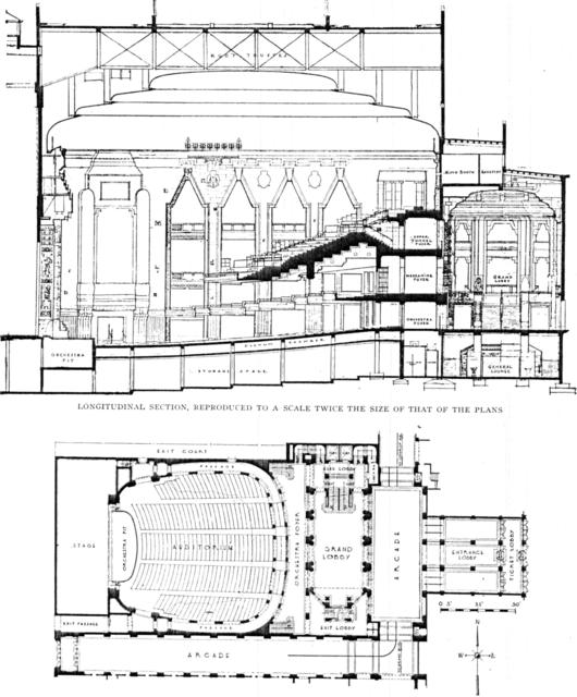 Fisher Rheatre, Detroit - Main Floor Plan