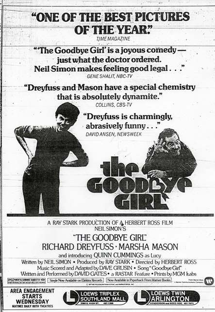 &quot;The Goodbye Girl&quot;