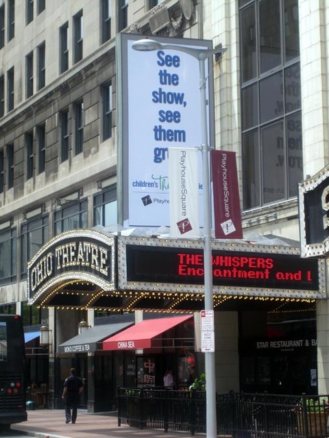 Ohio Theatre (Cleveland) - Marquee