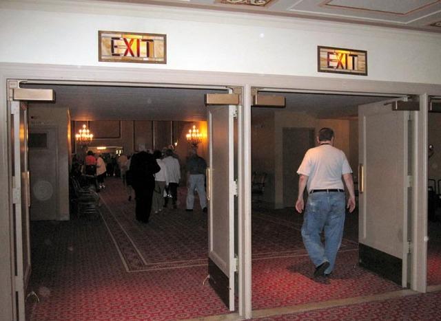 Ohio Theatre (Cleveland) - Exit Doors