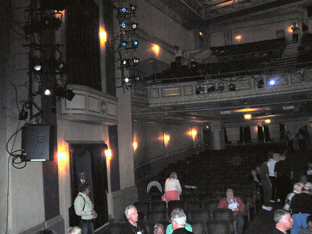 Ohio Theatre (Cleveland) - Auditorium from Stage (poor lighting)