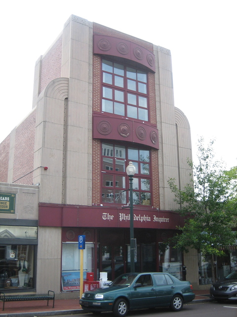 old Warner Theater, West Chester, PA