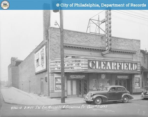 Clearfield Theatre, 2512 E. Clearfield Street