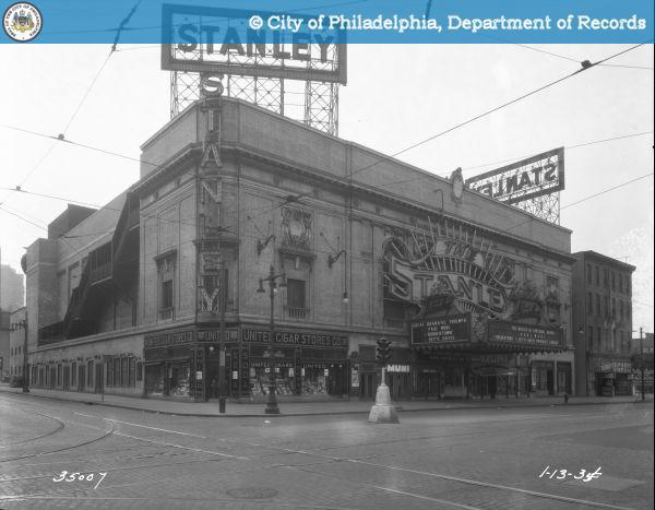 STANLEY THEATER 1935