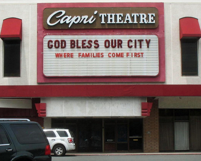 Harvest Church (formerly Capri Theatre) Concord