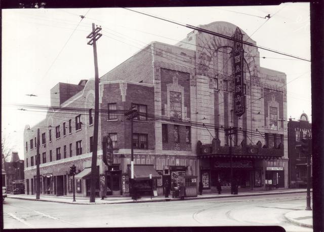 Cinéma Le Château, ville de Montréal,Canada. 24 novembre 1936