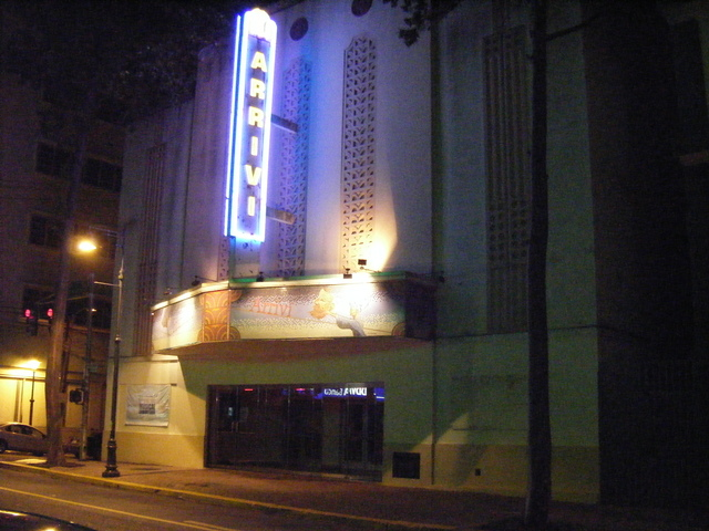 Renovated Mateinzo now Francisco Arriv Theater