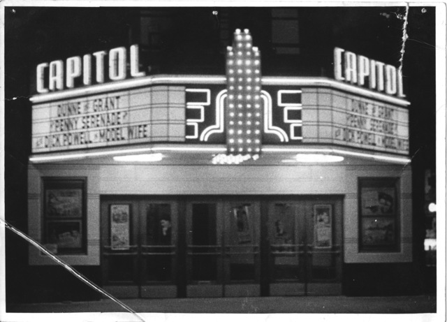Capital Theater Racine, WI 1941.