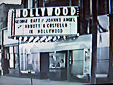 HOLLYWOOD (nee BUTTERFLY Theatre, Kenosha, Wisconsin, 1945
