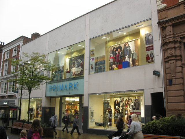 24 Oct 2012 Primark that's there now