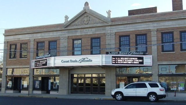 New Marquee & Facade at Count Basie Theatre - 2010