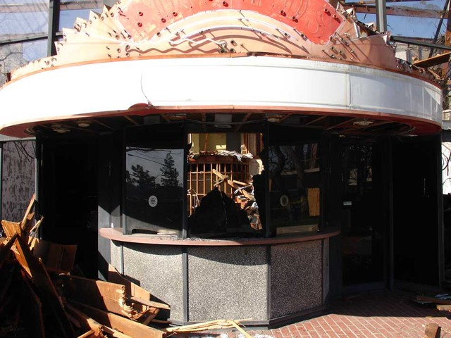 South Coast Plaza Box Office Demolition