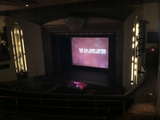theatre stage, from balcony right