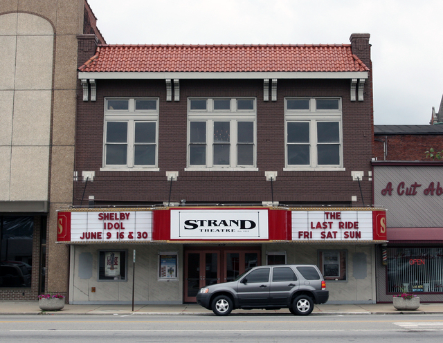 Strand Theatre, Shelbyville, IN