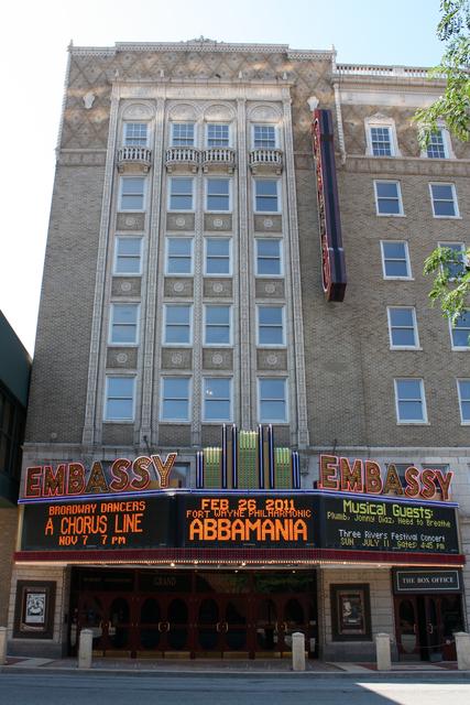 Embassy Theatre, Fort Wayne, IN