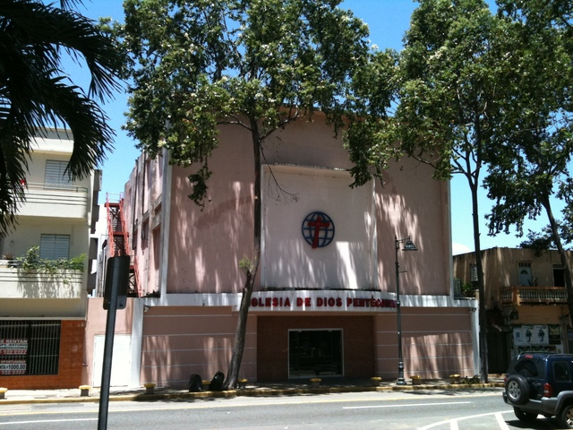 Cine Metropolitan now a church