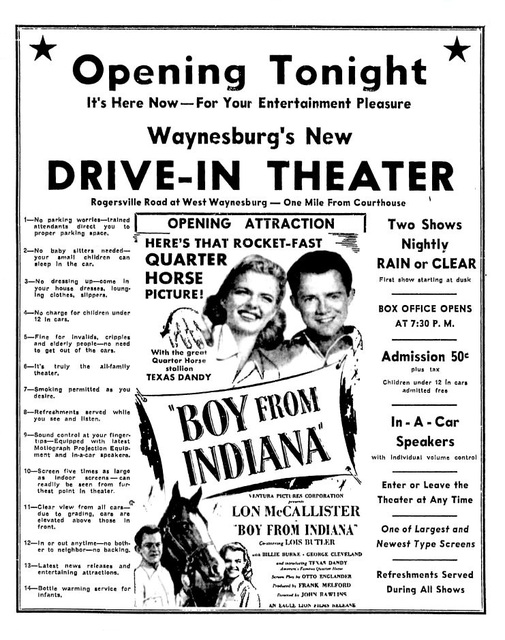 Waynesburg Drive-In