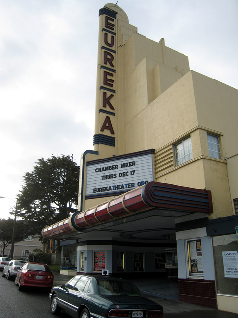 Eureka ca movie theatre