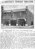SPEC Article Describing opening of the Theatre circa 1925