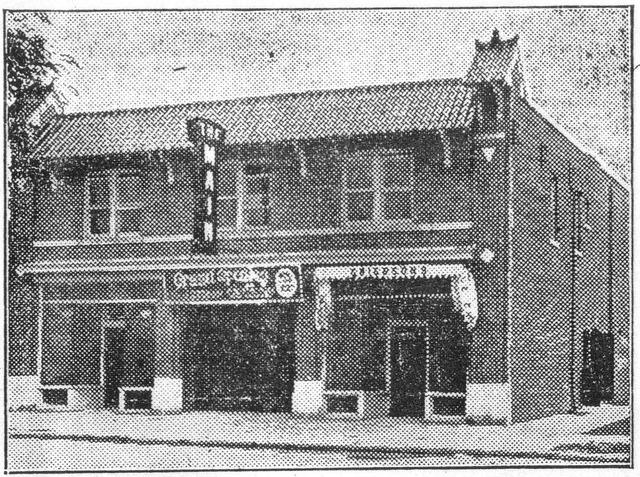 Exterior circa 1925