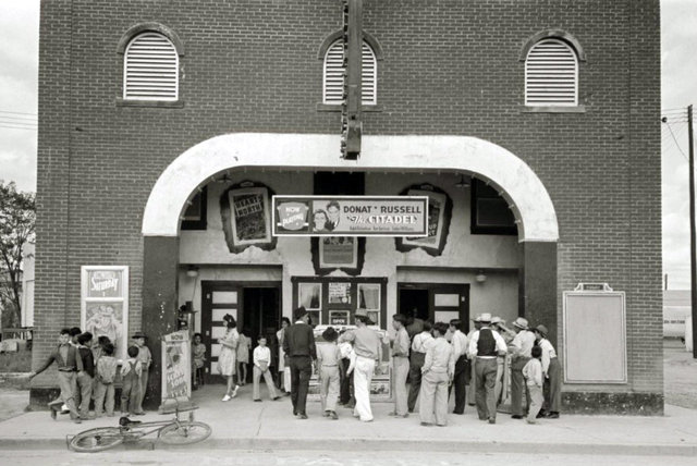 TEXAS Theatre, Pharr, Texas in 1939.