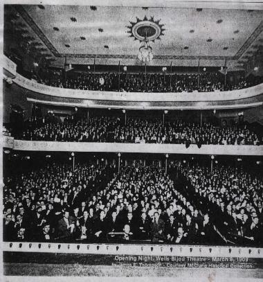 Bijou Knoxville Tennessee Interior from stage