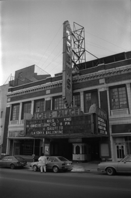 Loew's Palace Memphis Tennessee 1985