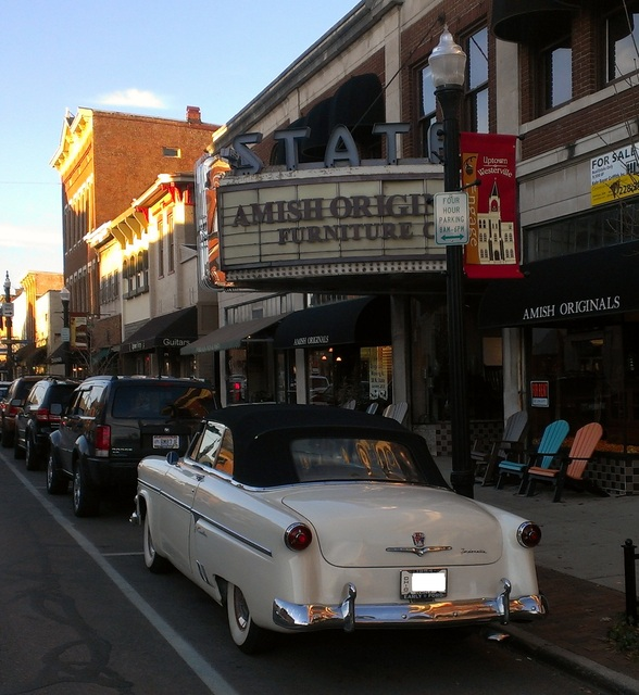 State Marquee and a 1954 Ford Sunliner