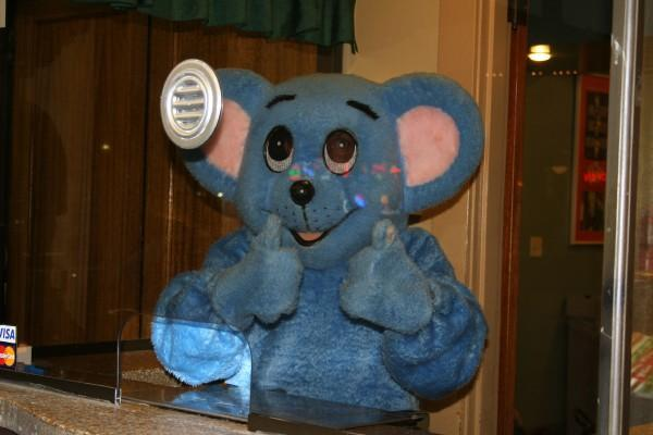 The Actual  Blue Mouse