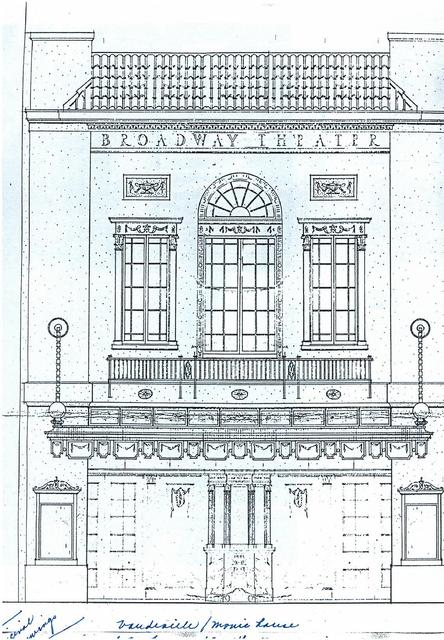Broadway Theater - facade