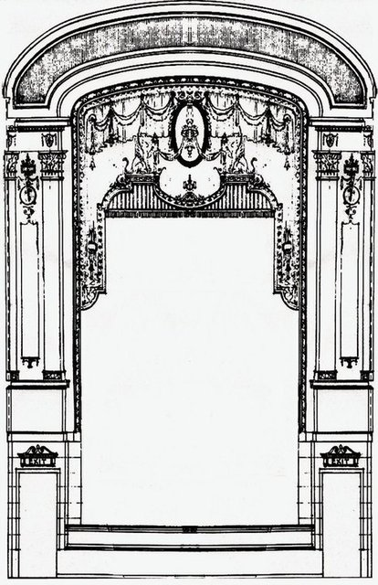 Stage Rendering / from original blueprints