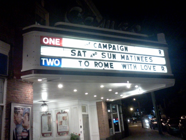 2012 Shot of Marquee at night