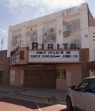 Rialto Theatre, Brownfield, TX - 2012