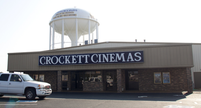 Crockett Cinemas, Lawrenceburg, TN - 2012