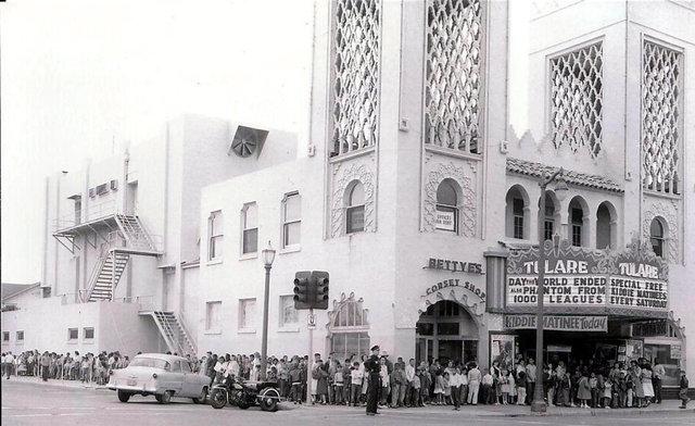 TULARE Theatre; Tulare, California.