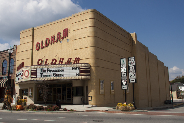 Oldham Theatre, Winchester, TN - 2012