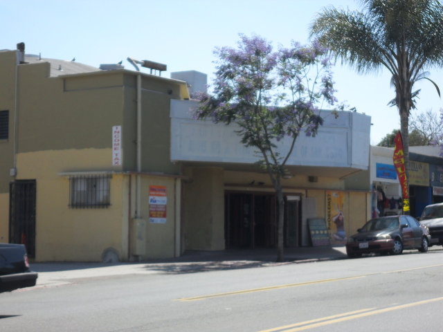 Former Academy Theater, July 2011