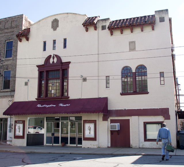 Rockingham Theatre, Reidsville, NC - 2012