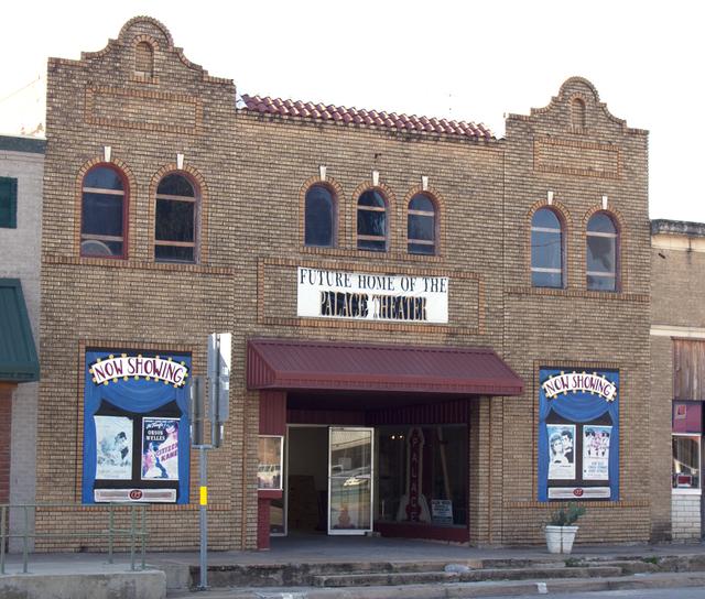 Palace Theatre, Brady, TX - 2012
