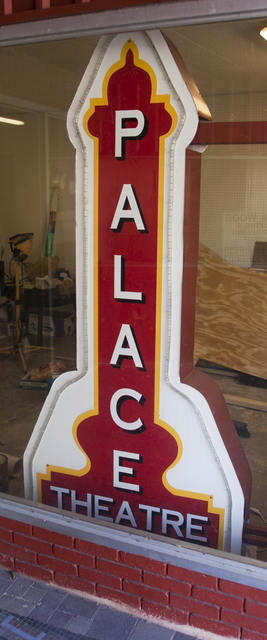 Palace Theatre Blade Sign, Brady, TX - 2012