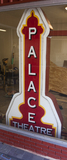 Palace Theatre Blade Sign, Brady, TX - 2012