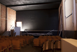 Palace Theatre Interior During Construction, Brady, TX - 2012