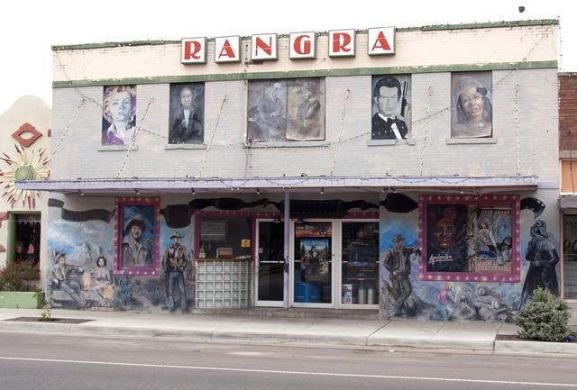 Rangra Theatre, Alpine, TX - 2012