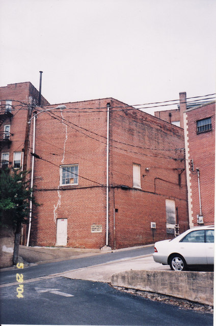 Rear of the Strand Theater