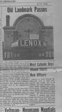 "Lenox ""Sold"" Reliable Times July 1964"