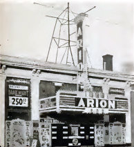 ARION Theatre; Minneapolis, Minnesota, early 1950s.