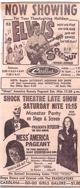 the messamerica  pageant  at  the  carolina  theater