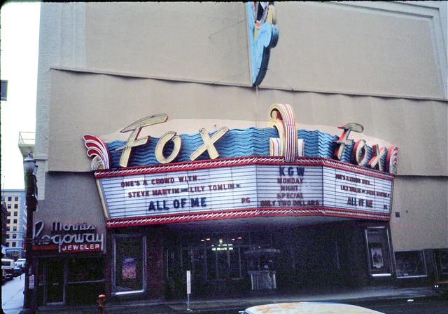 Fox Theatre Portland