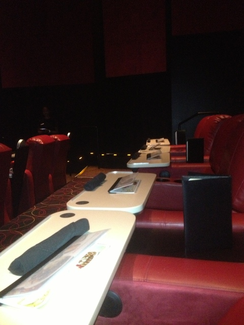 Power Reclining Seats @ the new AMC Dine-In Theatres Marina 6