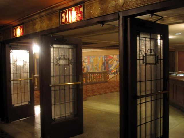 State Theatre (Cleveland) - Exit Doors